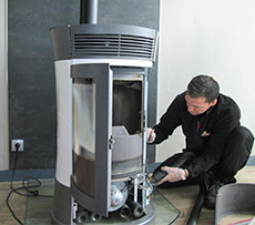 wolff chauffage sanitaire assure l entretien de votre poele granul s. Black Bedroom Furniture Sets. Home Design Ideas